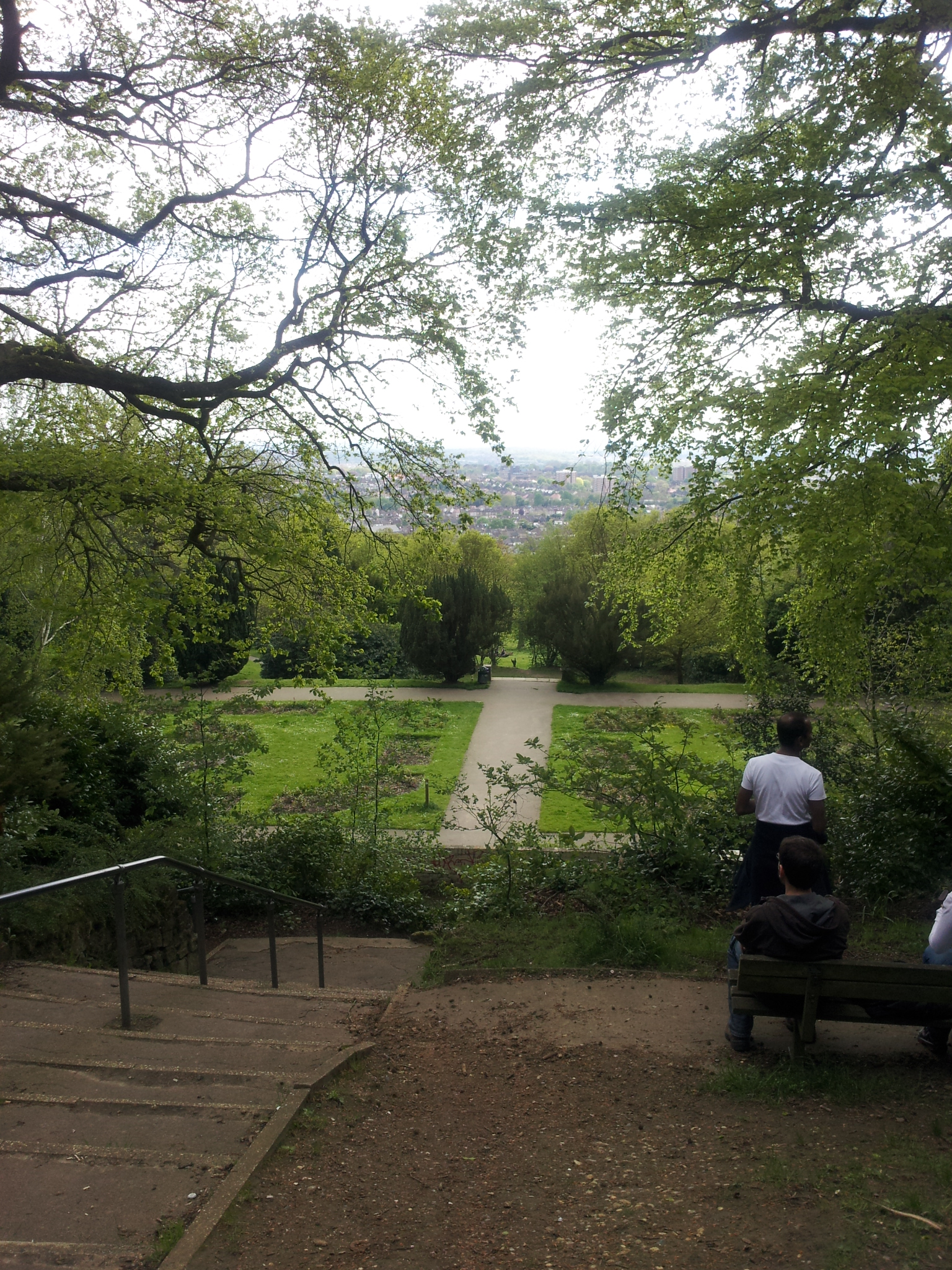 Walking London - View from Severndroog Castle