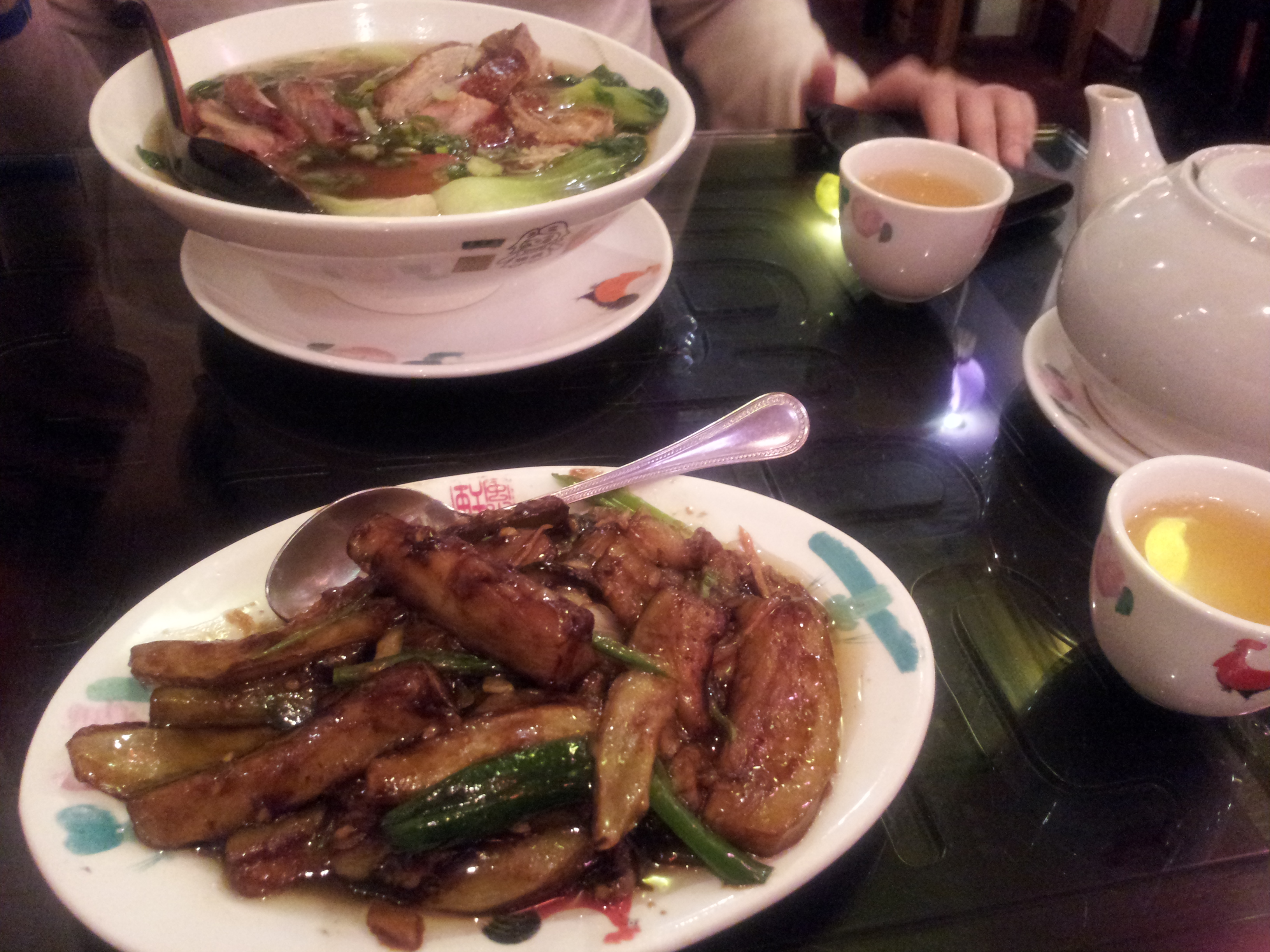 The Culinary Explorer - Aubergines at Feng Shui Inn