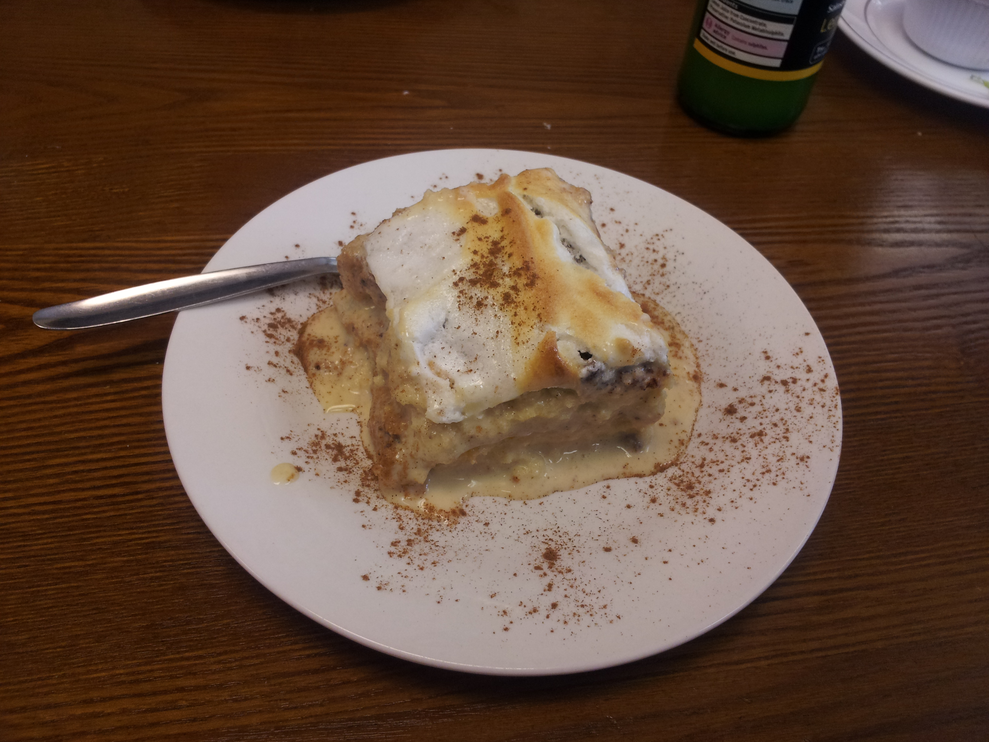 The Culinary Explorer - Tres leches cake