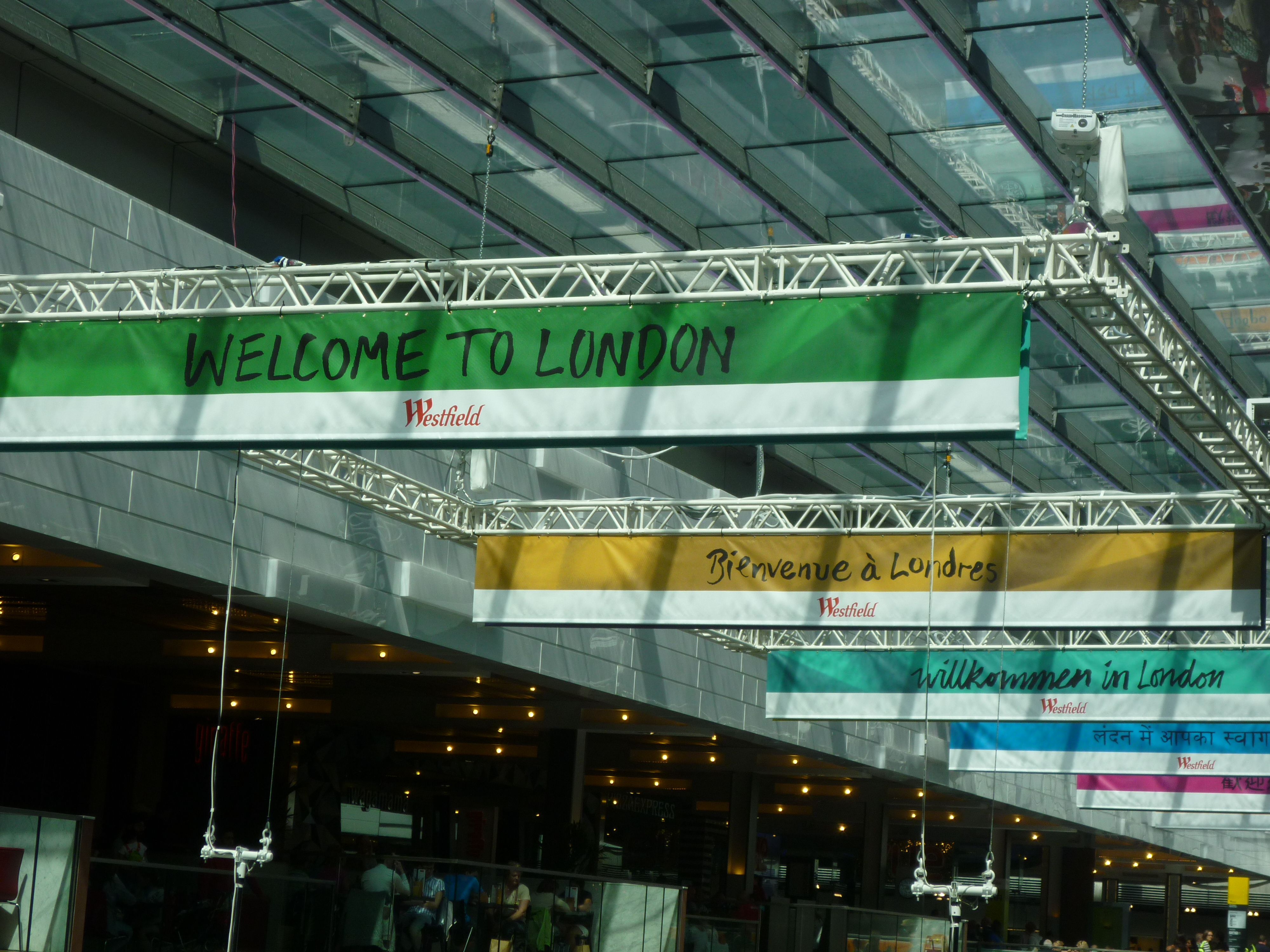 The 2012 Olympics Are Here! - Stratford tube station