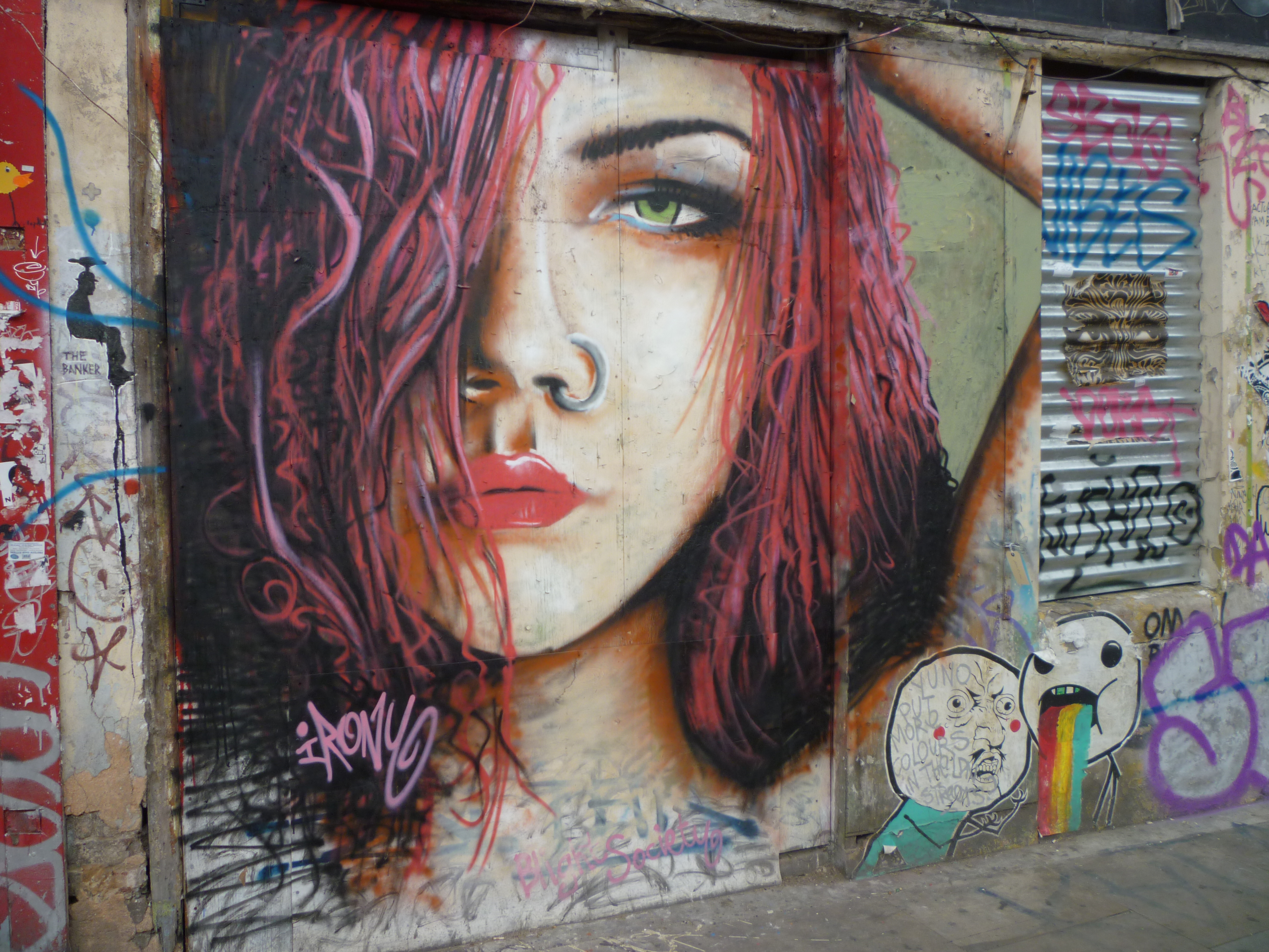 Street Art in London - portrait 7