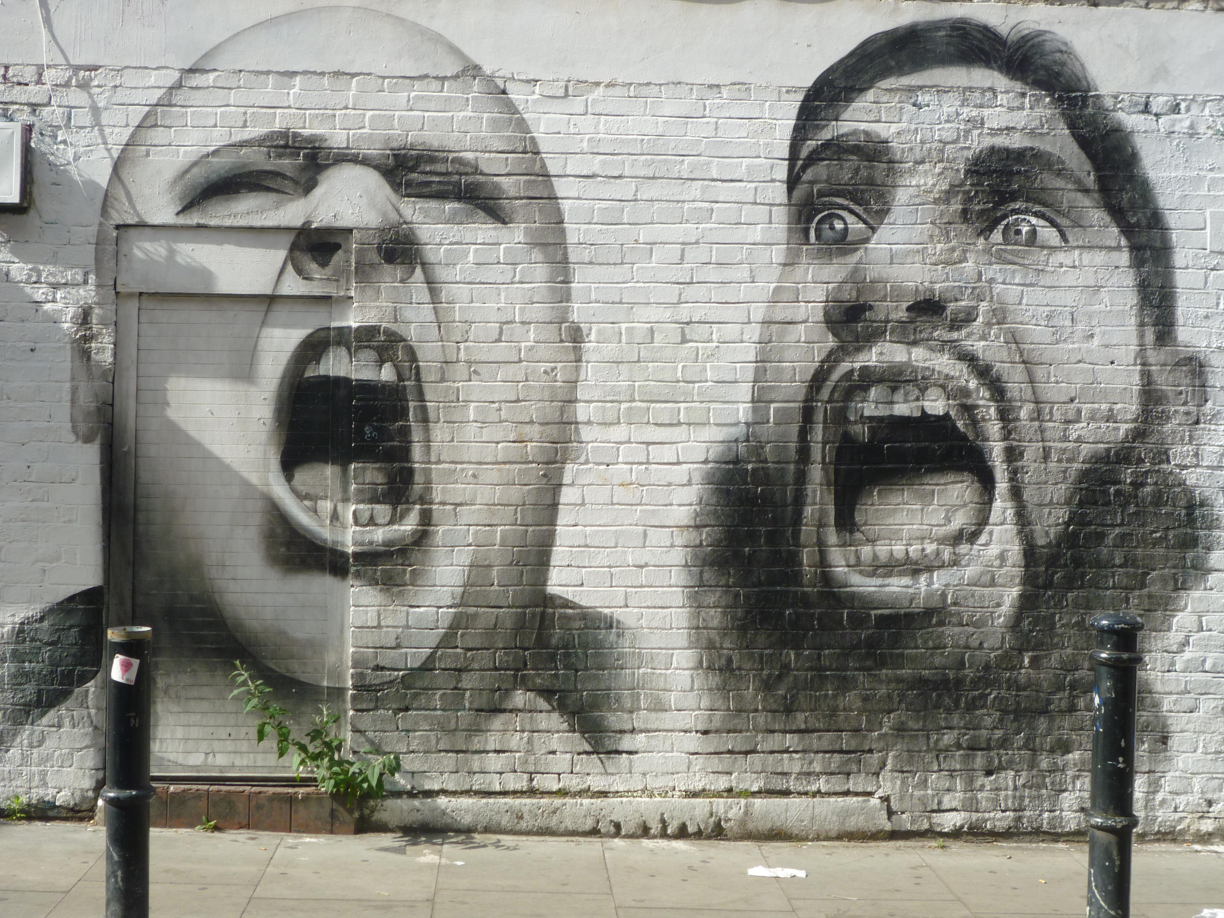 Street Art in London - portrait 3