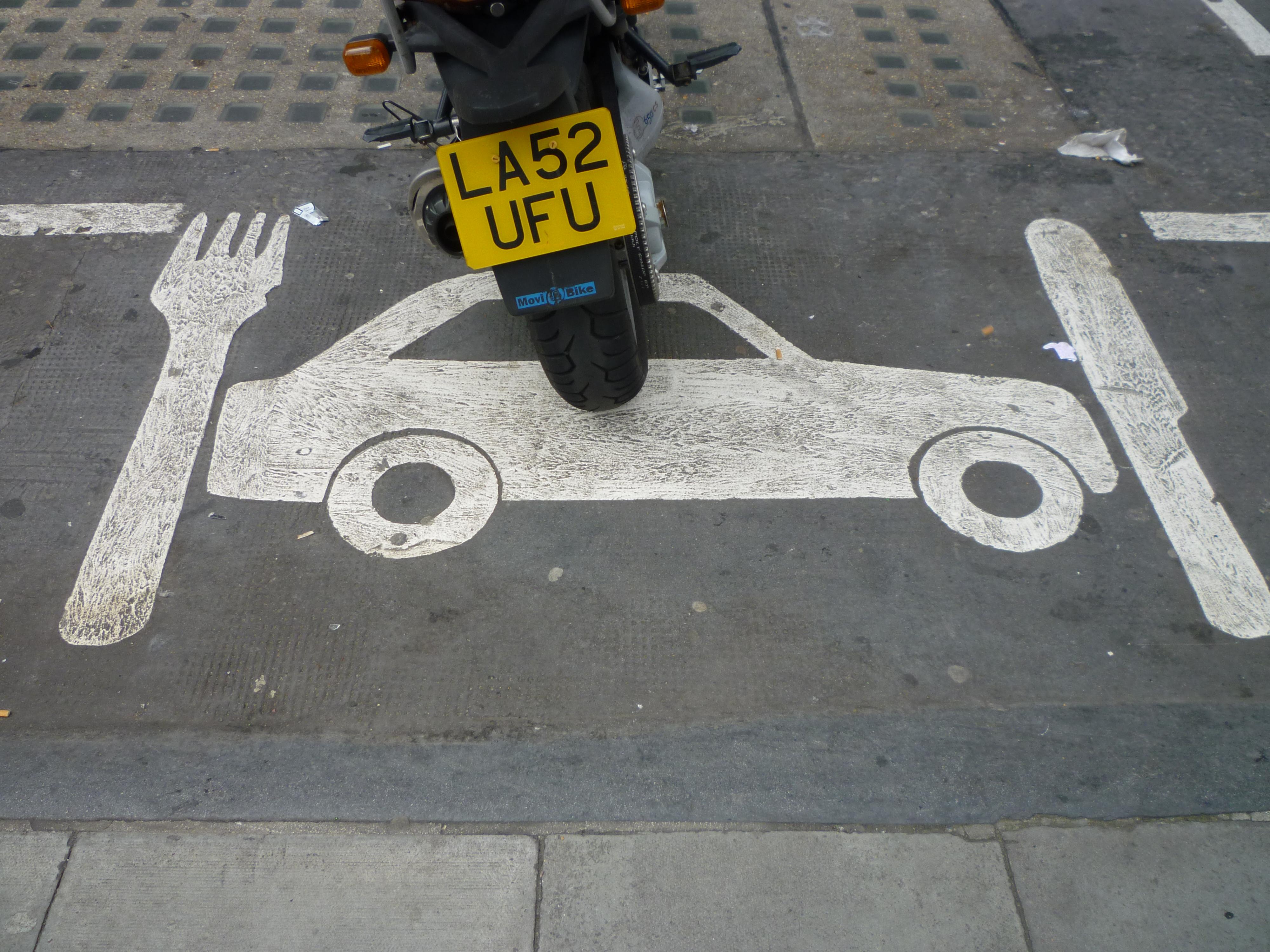 Street Art in London - signs 3