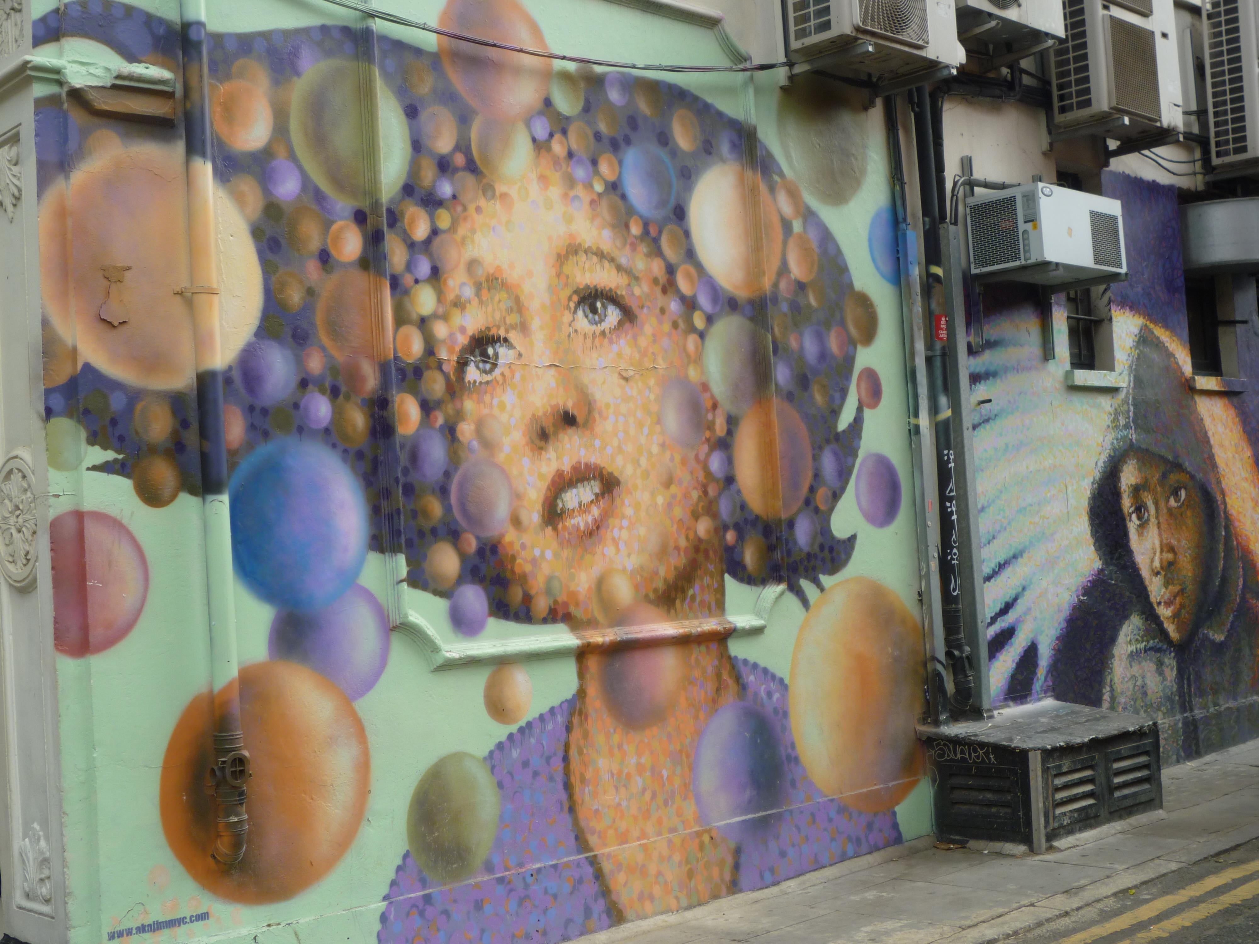 Street Art in London - portrait 6
