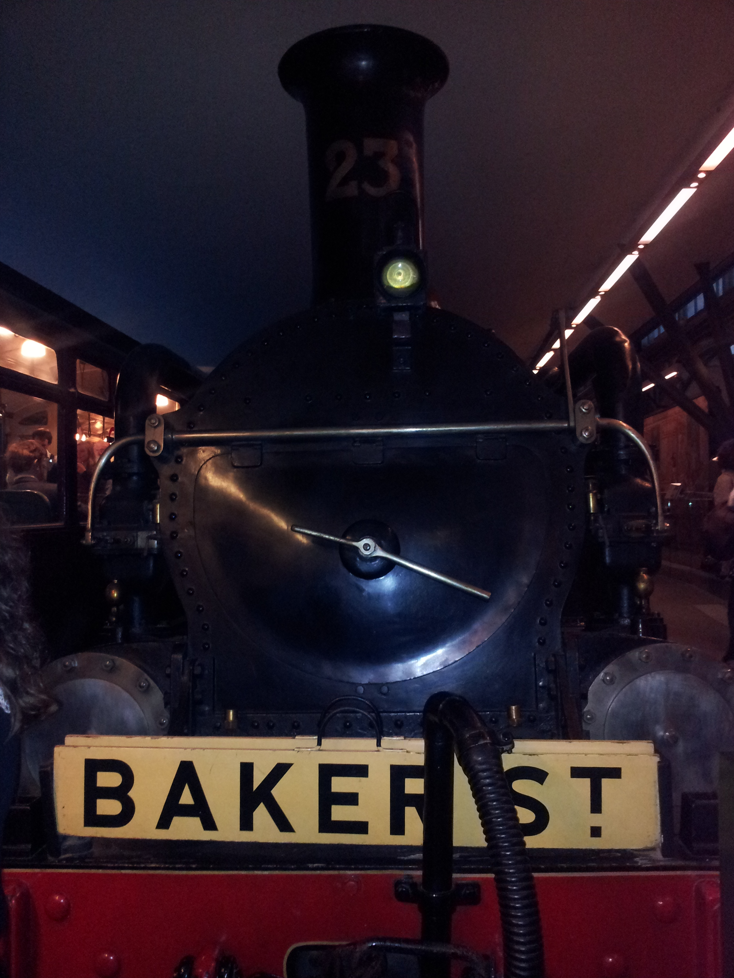 Night at the Museum in London - Baker St
