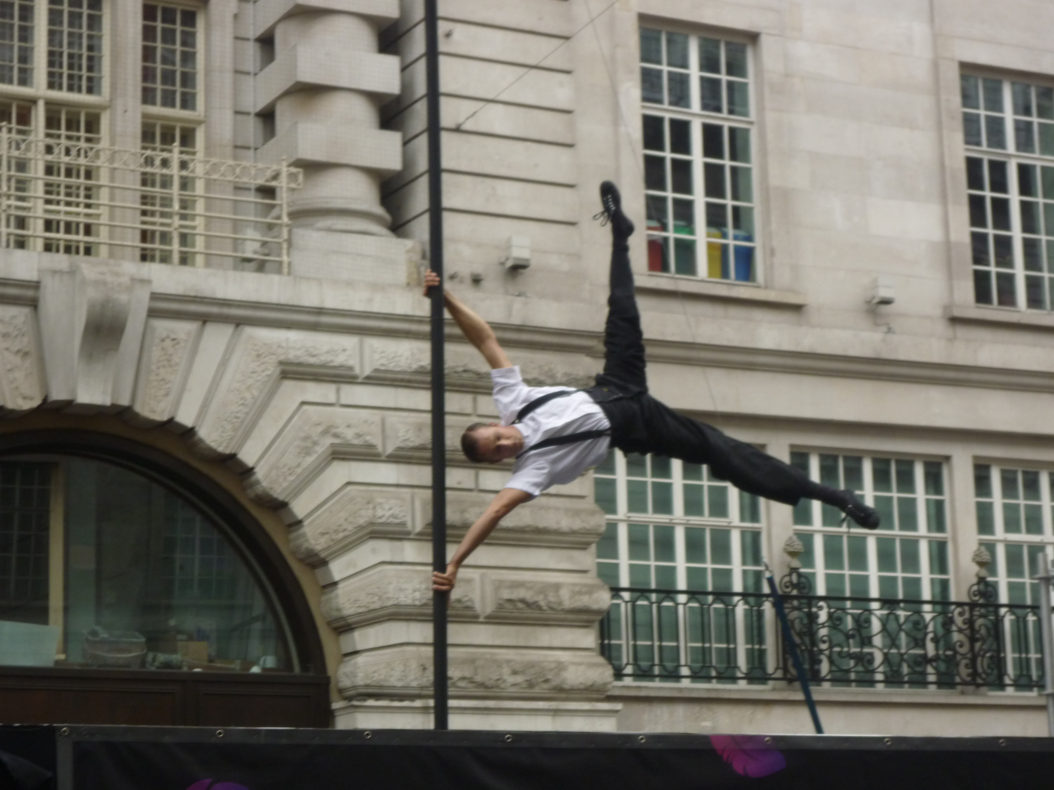 Circus in London Streets