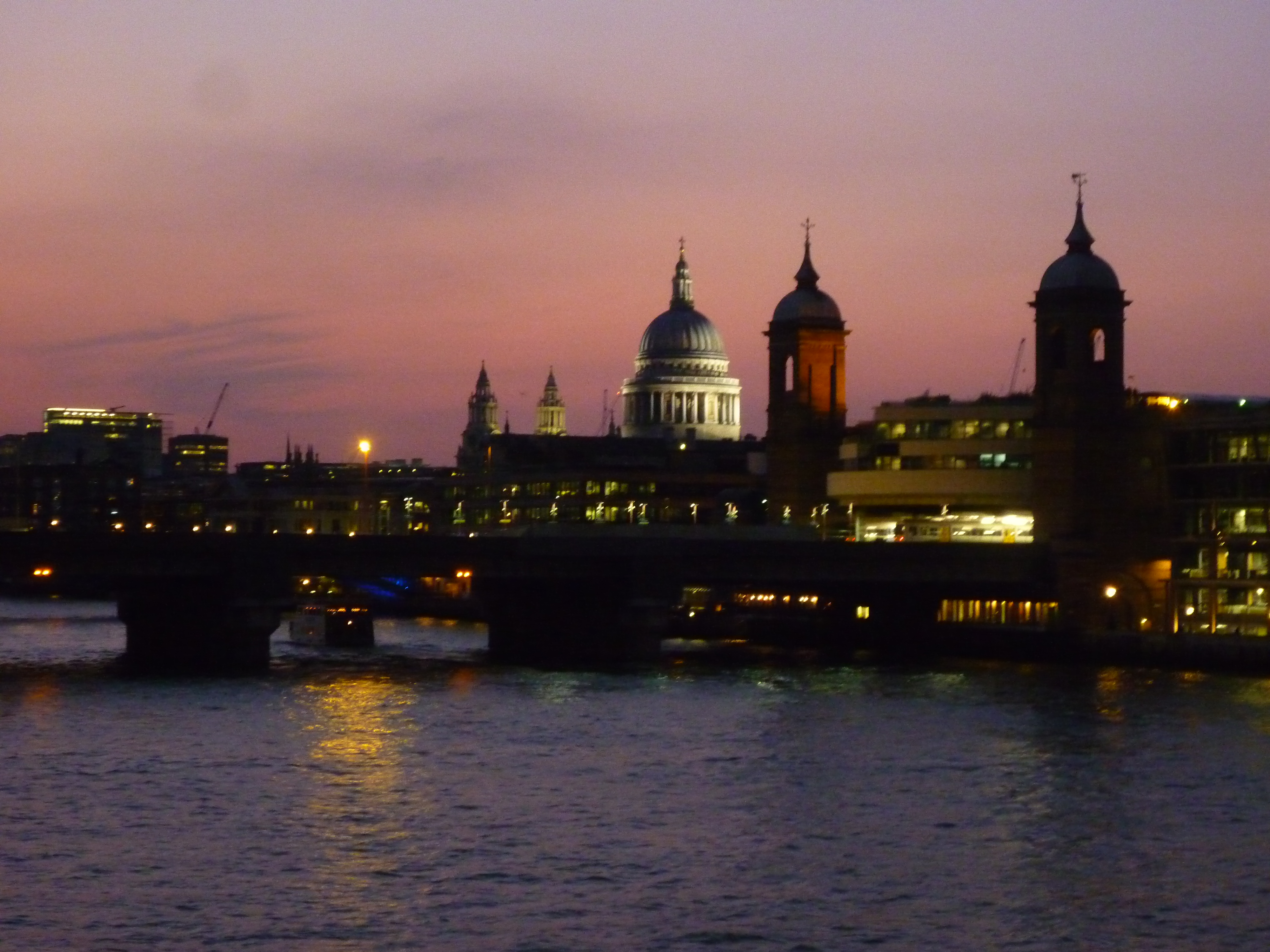 Do You Think London Is Grey? - London view from Blackfriars Bridge