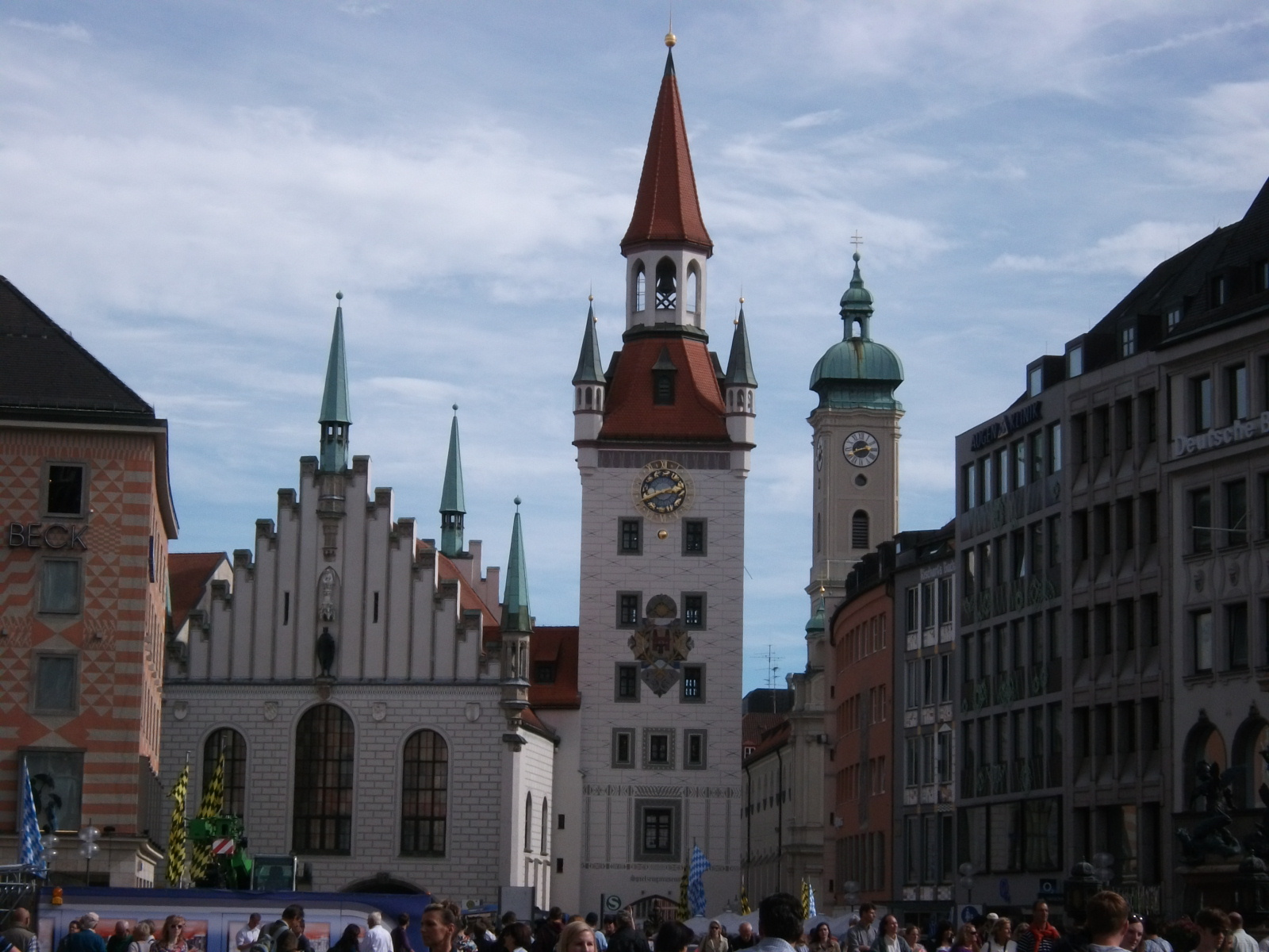 A Londoner from Afar Goes to Munich1 - Marien Platz