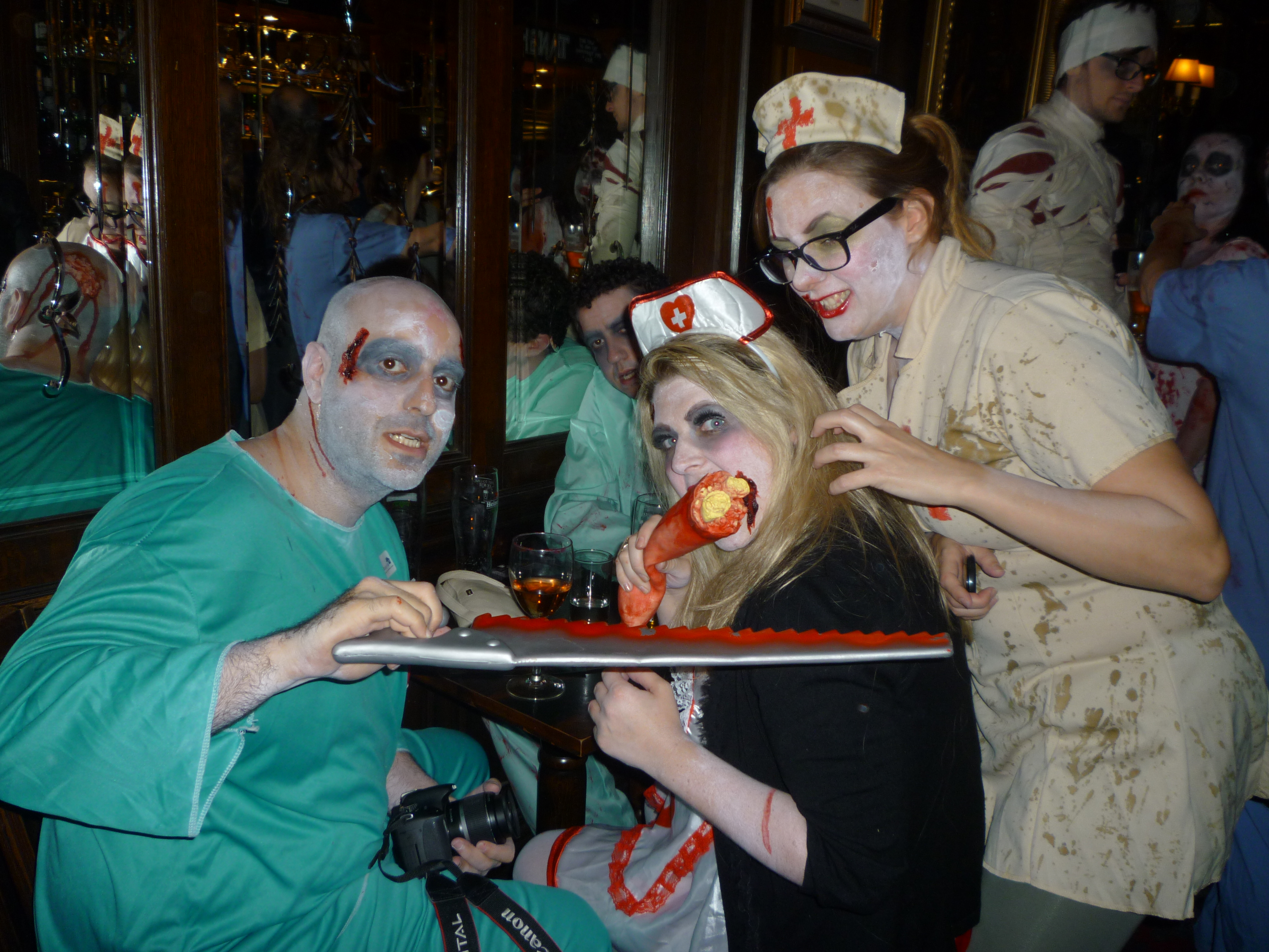 World Zombie Day in London - stay healthy