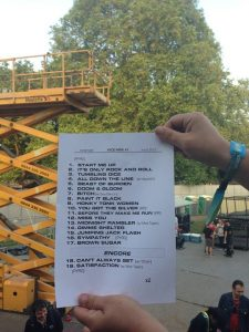 Set list Rolling Stones Hyde Park 2013
