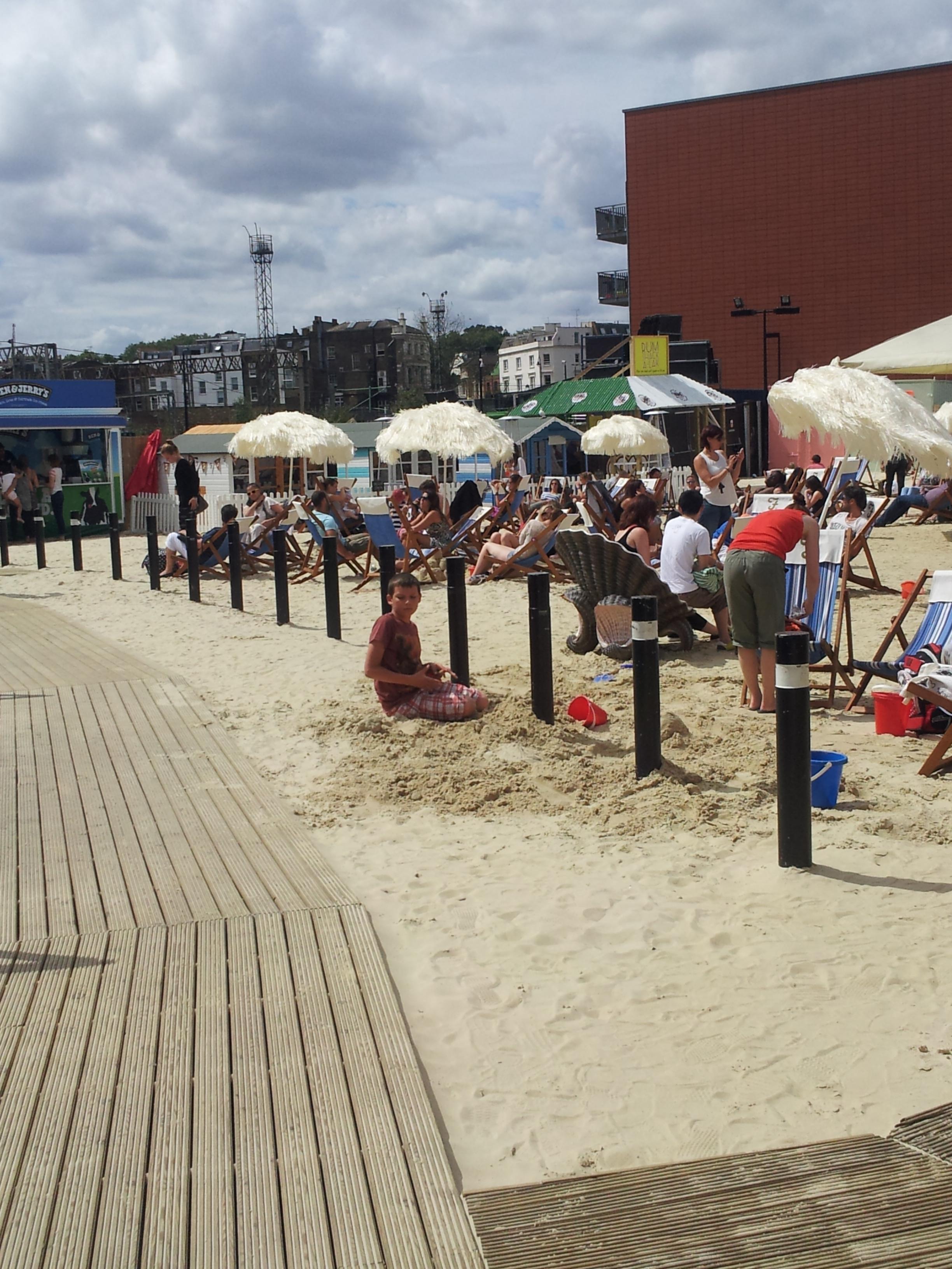 A Day at Camden Beach