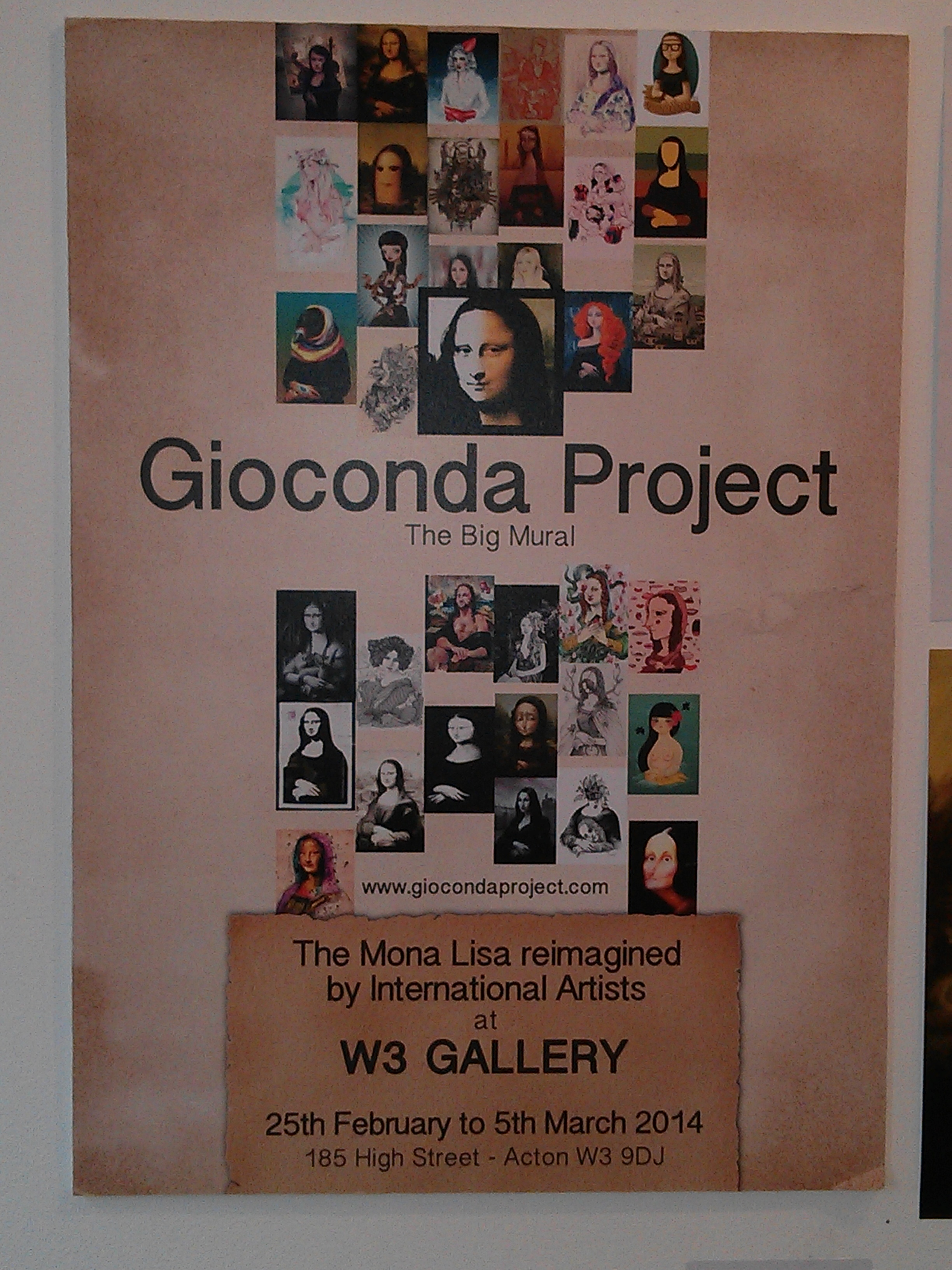 Re-inventing the Gioconda