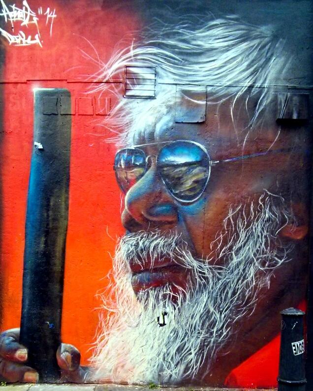 New Year, New Street Art in London - Adnate