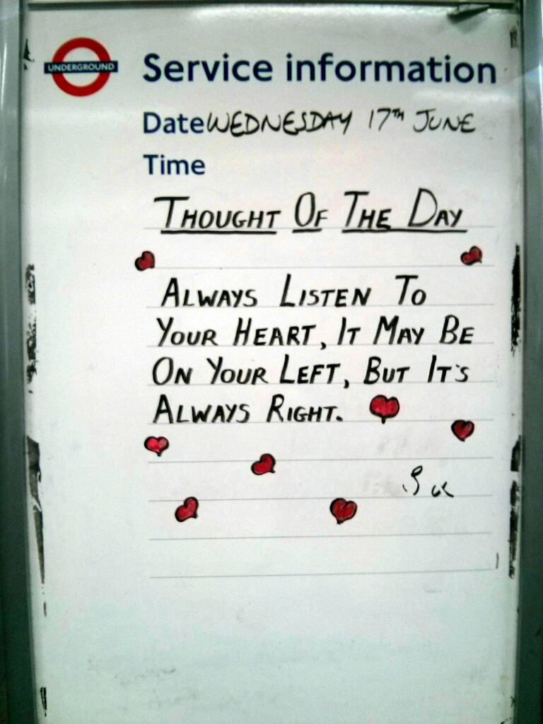 Picture Wednesday - Thought of the Day
