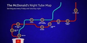 Night Tube Map McD