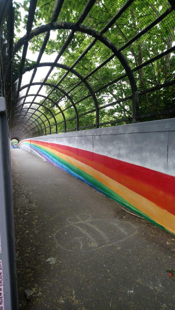 NHS Rainbow by Artmongers in Brockley