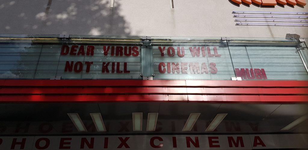 Phoenix Cinema- Dear Virus, you will not kill cinemas
